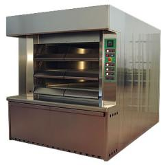 Tube-type ovens for bakery production