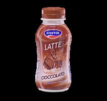 Milk beverages with chocolate flavor