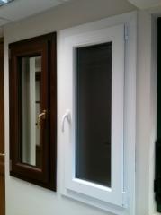 Window plastic frames