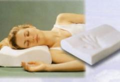 Orthopedic pillows for laying under head