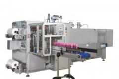 Machines for wrapping cellophane film