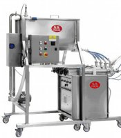 Equipment for food liquids bottling