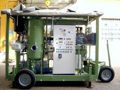 Oil Purifier Mobile plant