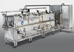 Machines for washing of packagings