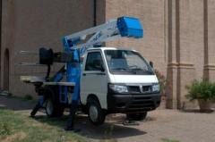 Compact articulated aerial platform A314 UP