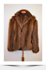 Men's fur coats