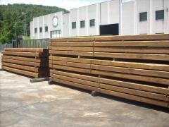 Timber logs