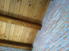 Tavole in legno di castagno