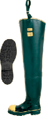 Working rubber boots