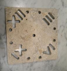 Orologi da parete in pietra