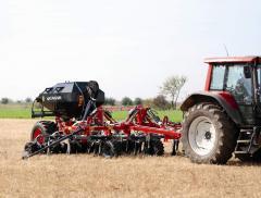 Pneumatic drills, cultivators