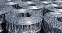 Mesh, welded zinc-plated