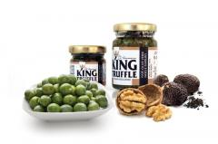 Patè , Green Olive, Nuts and Truffle  - King Truffle - Italian Excellence