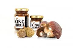 Porcini Mushroom and White Truffle Cream - King Truffle - Italian Excellence