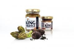 Artichokes and Truffle Cream - King Truffle - Italian Excellence