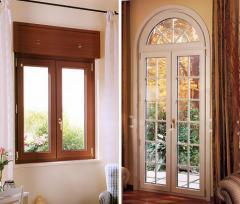 Lines for manufacture of window, door structures