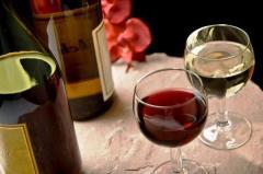 Vini bianchi e vini rossi