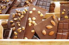 Cioccolato con diversi gusti