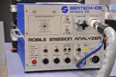 SENSOR'S MOBILE EXHAUST ANALYZER