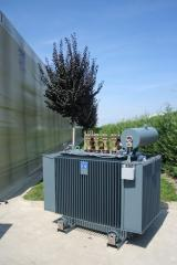 Oil immersed transformers made in Italy