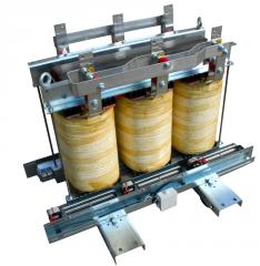 Сухие трансформаторы с воздушной изоляцией