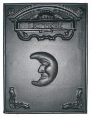 Frontale cassetta per lettere in fusione di alluminio Altezza 48,5 x Larghezza 38,5 cm