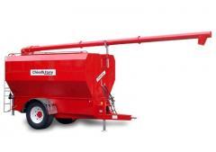 Feed truck tank