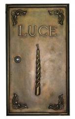 Sportello contatore Luce in ottone 25x44 h cm Peso kg 7