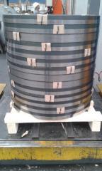 Hardened steel strip