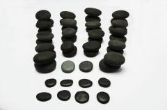NATURAL HOT STONE MASSAGE KIT