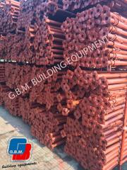 Used shoring props - post shore - puntelli usati - popi metalici