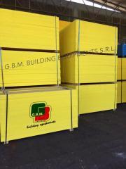 Shuttering panels, wood panel,