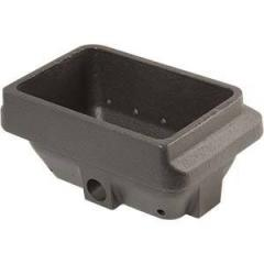 Braciere in ghisa - bruciatore per stufe pellet cm 16,5x10,6x7,5 H cod.LB-BGP165106