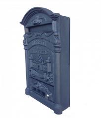 Cassetta postale Mod. Castello in fusione di alluminio