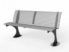 Steel bench model SHARK