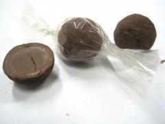 Tartufi di cioccolato alla nocciola