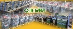 Macchine nuove ed usate, per la produzione di calzature, pelletteria ed affini.