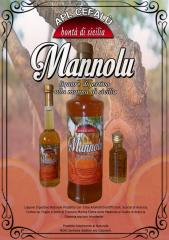 MANNOLU -APLCEFALU (Liquore Digestivo alla Manna & Arancia di Sicilia)
