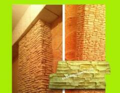 Timbro per lavoro verticale e orizzontale decorativo in cemento intonaco texture timbro