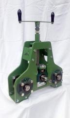 Centinatrice calandra manuale per profilati e tubi