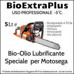 Lubrificante Catene motosega 100% biodegradabile ecologico