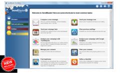 Software per email marketing ed inviti eventi sendblaster 4.0 multilingua change langue