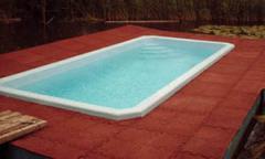 Bordi piscina linea QUADRIO