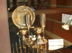Utensils from silver, silver