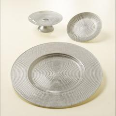 Dish from silver