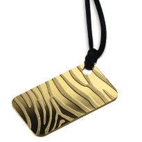 Pendente in oro zebra