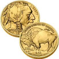 1 oncia oro Stati Uniti Bufalo