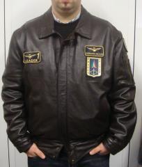 Giacca Pelle Aeronautica Italiana originale con