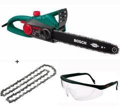 BOSCH Motosega AKE 35 S + 2° catena + occhiali di protezione