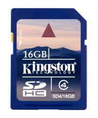 Scheda memoria Kingston Sd 16gb classe4